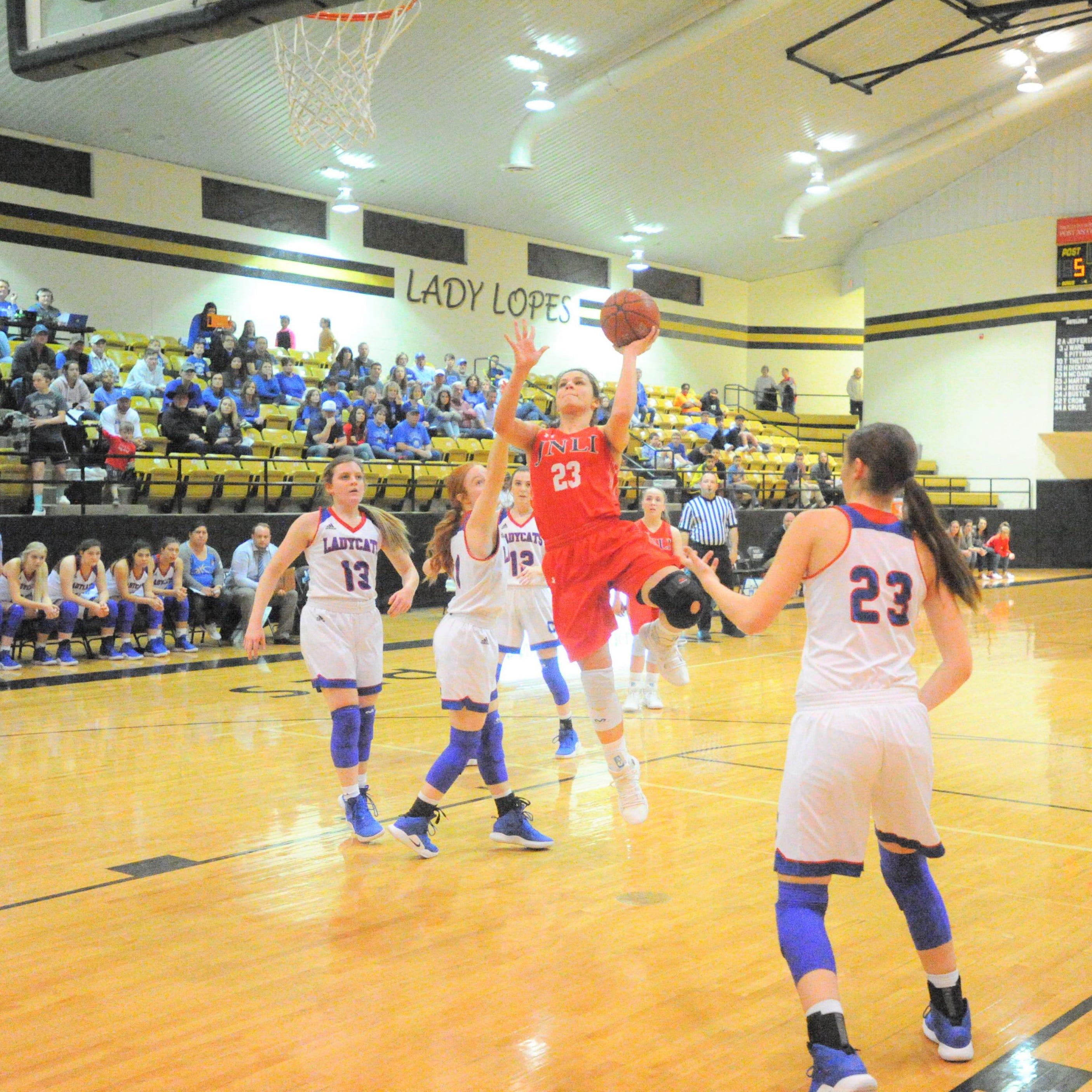 Defense leads No. 6 Jim Ned girls basketball past Childress, into region quarterfinals