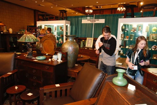 Over 100 vendors will be at the National Arts and Crafts Conference at the Grove Park Inn in Asheville this weekend.