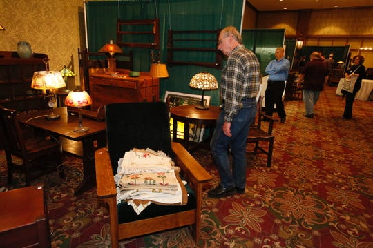 The National Arts and Crafts Conference at the Grove Park Inn in Asheville is this weekend.