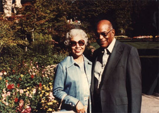 Evelyn and James Golden