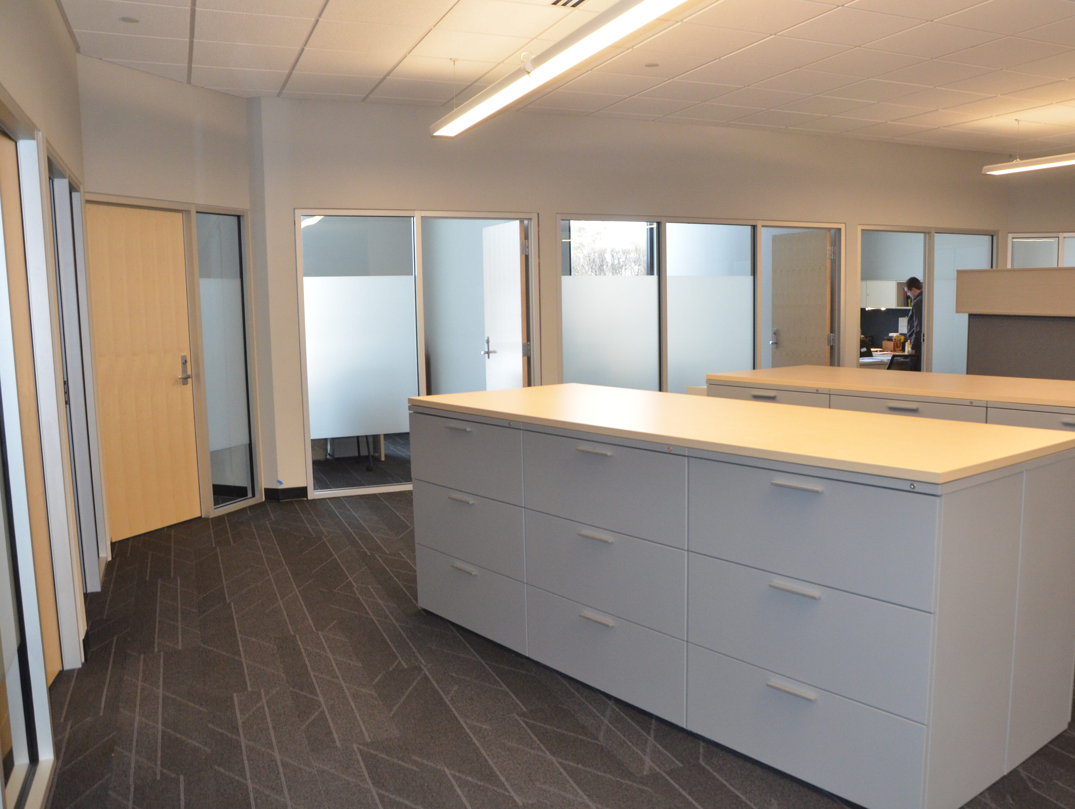 Kellogg Community College's Regional Manufacturing Technology Center is currently undergoing a $4.3 million renovation of its 29-year-old facility, involving refurbished classrooms, offices and resource room, as well as a larger conference room for the building.