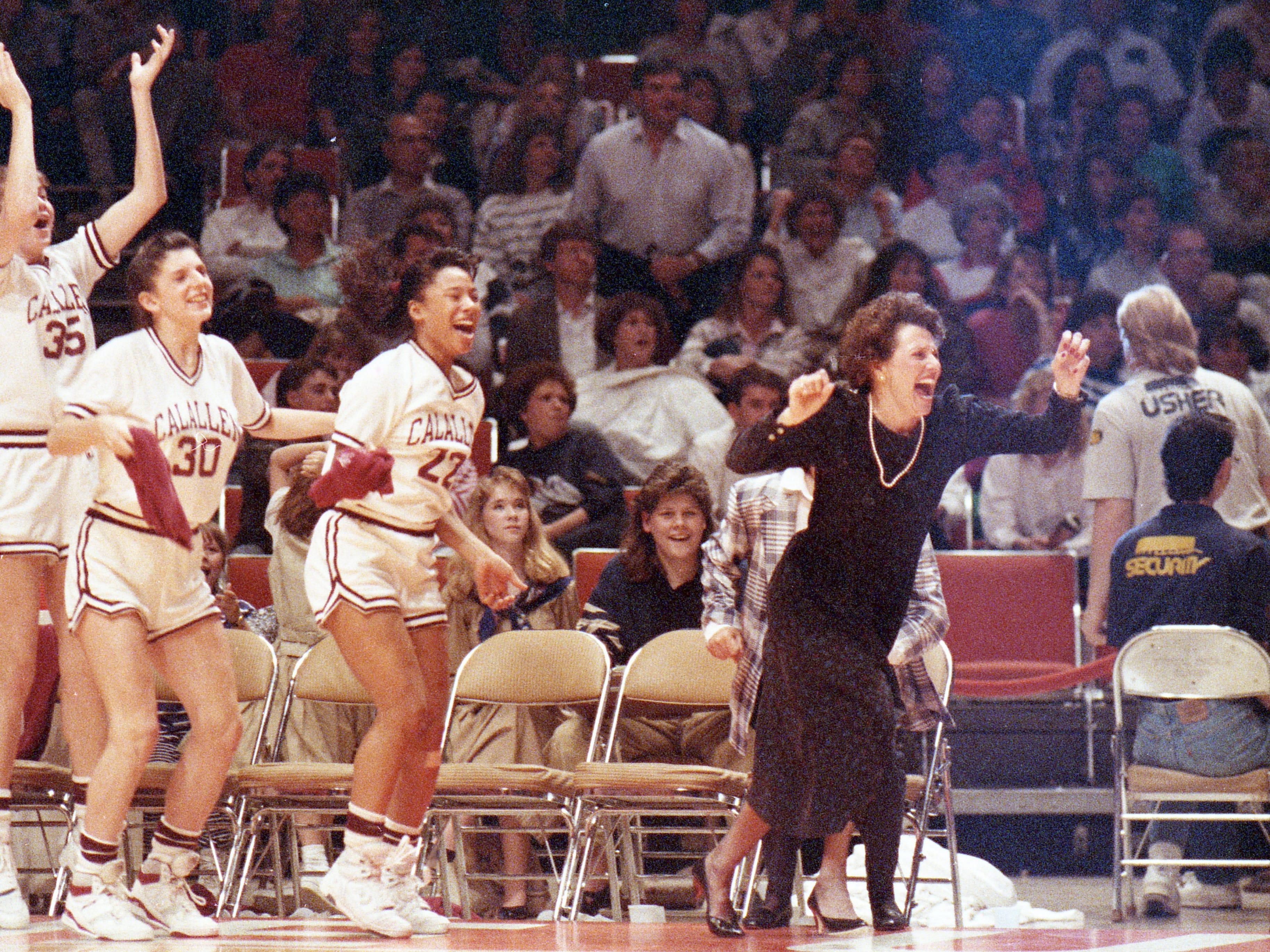 Calallen girls state basketball championship 1990