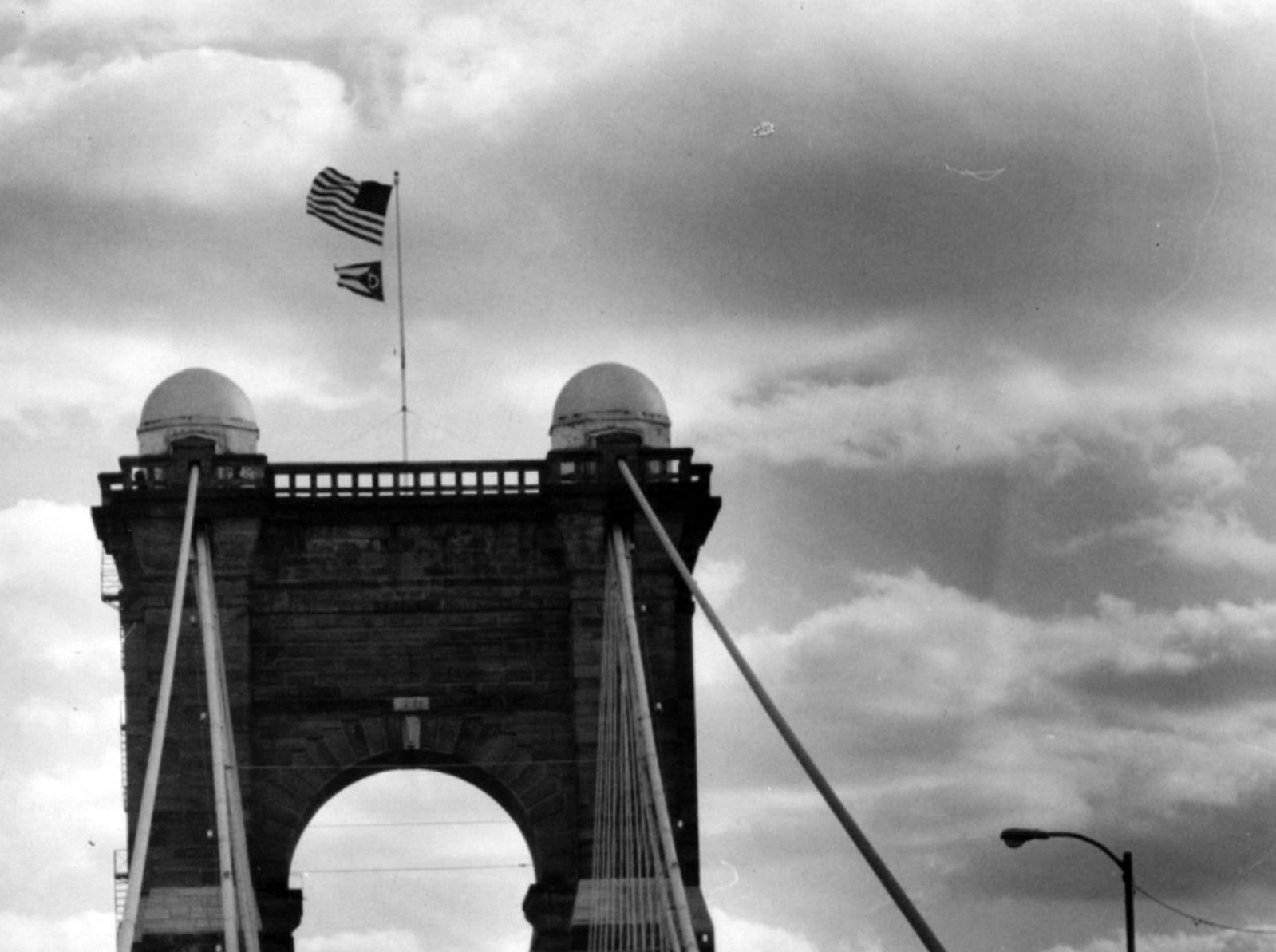 OCTOBER 24, 1988: John A. Roebling Suspension Bridge. The Enquirer/Michael Snyder scanned May 16, 2013