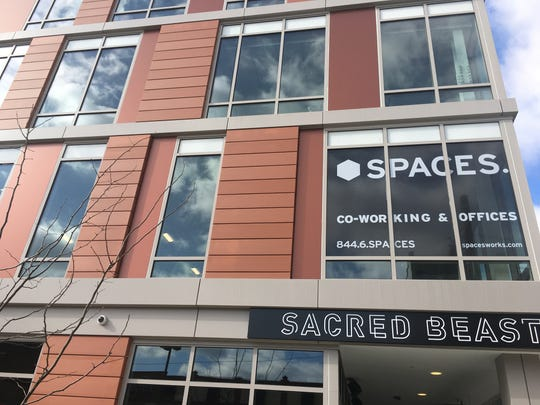 Julie Eddleman, director or client services at Google Inc., is moving into a co-working space at Spaces in Over-the-Rhine