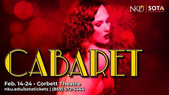 """Kander and Ebb's """"Cabaret"""" runs Feb. 14-24 at NKU's Corbett Theatre."""