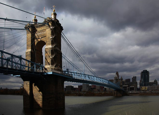 The Roebling Bridge. The Enquirer/Michael E. Keating