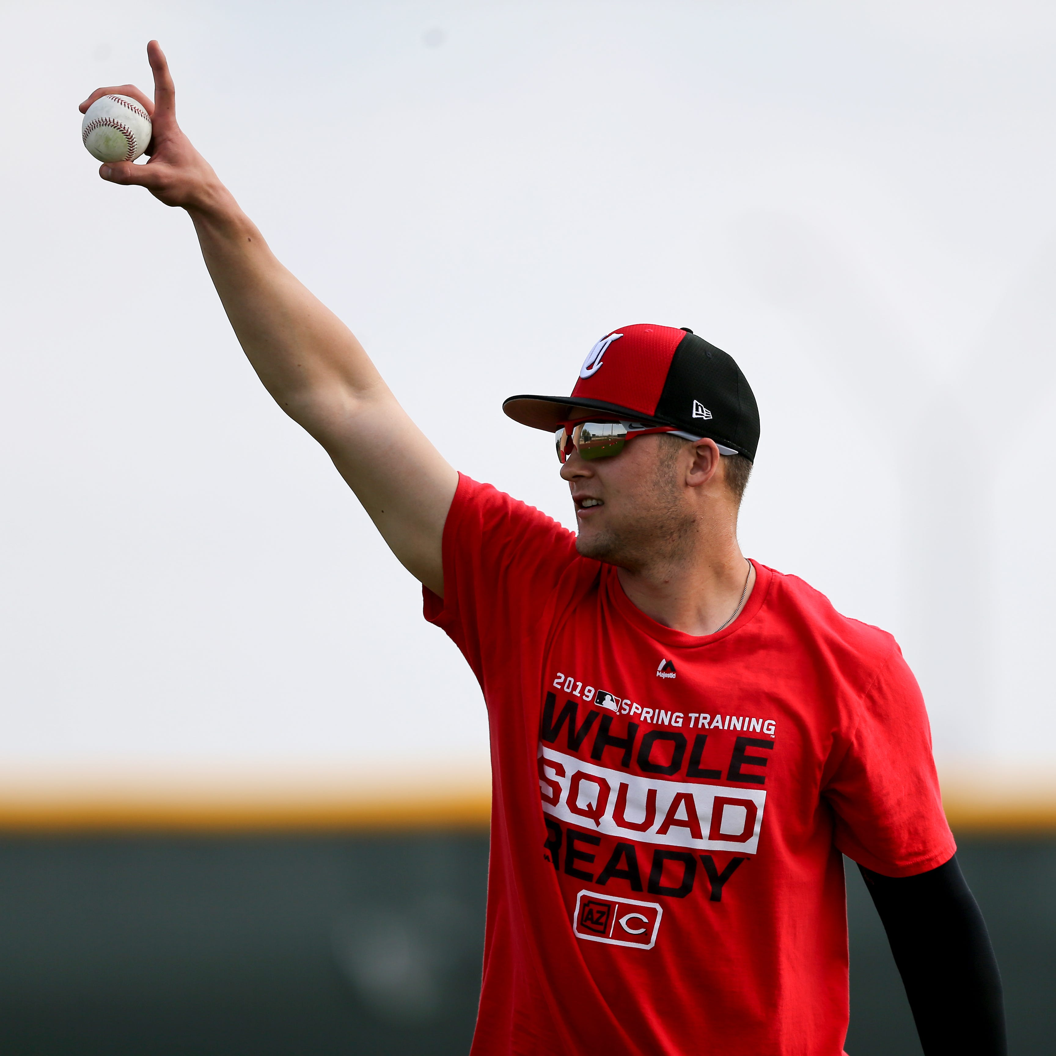 TML: Reds' decision to leave Senzel at centerfield, not rush promotion admirable