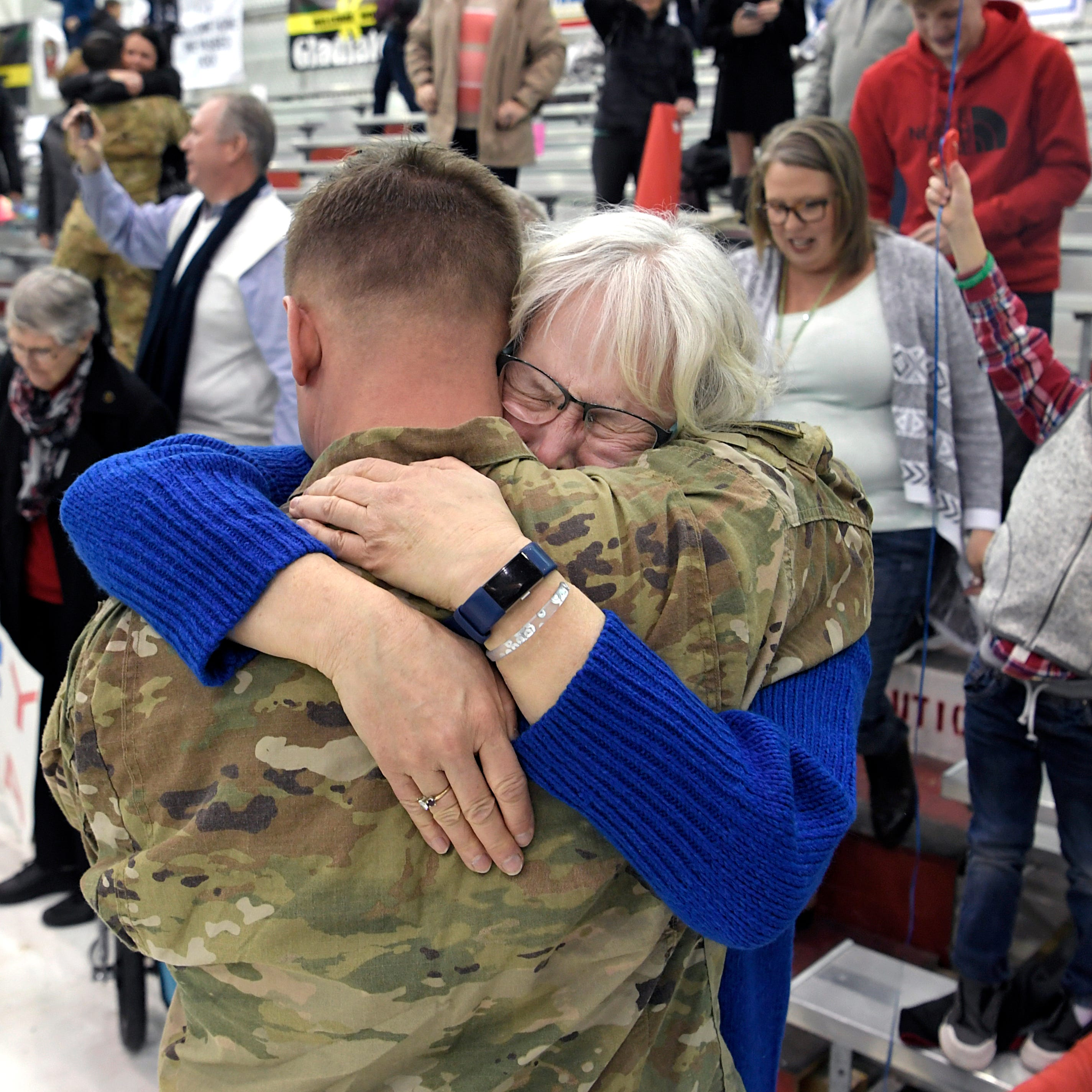 101st Airborne soldiers with 'Task Force Destiny' return from Afghanistan