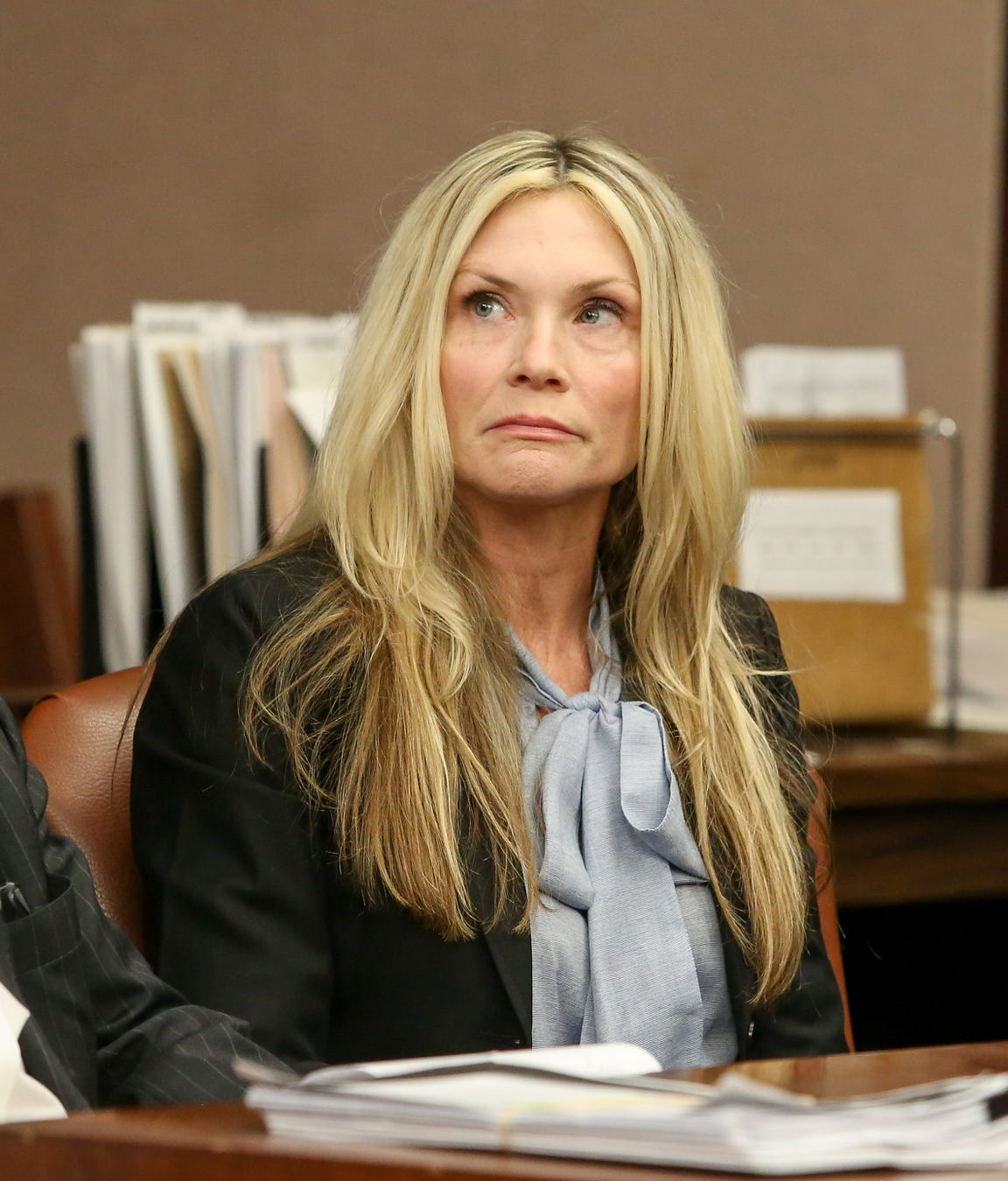 Amy Locane at her resentencing in February.