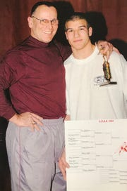 Kurt Epps with his son Brett