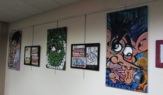 Celebrate street art and graffiti in the Art Space at Warren in the Somerset County Library System of New Jersey's (SCLSNJ) Warren Twp. Library branch, located at 42 Mountain Blvd in Warren Twp., through Friday, March 29.