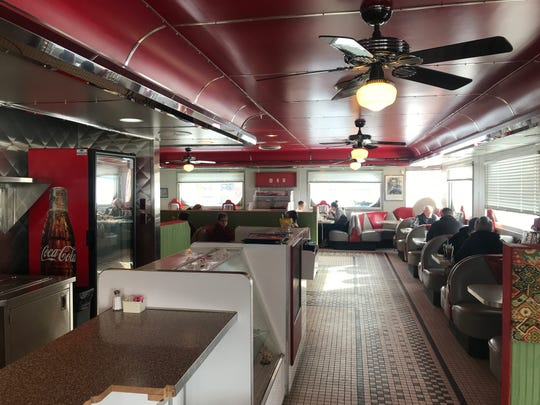 The cozy dining room at Pleasant Hill Diner.