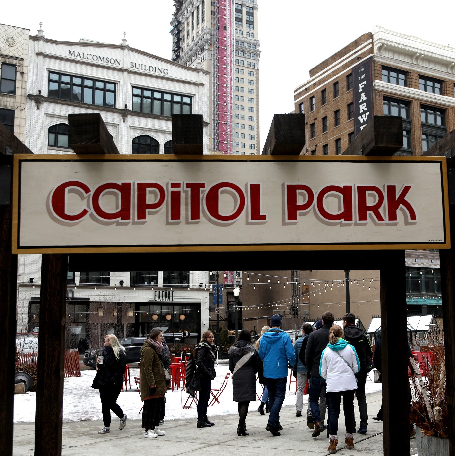 How Detroit's Capitol Park went from desolation to a hot destination