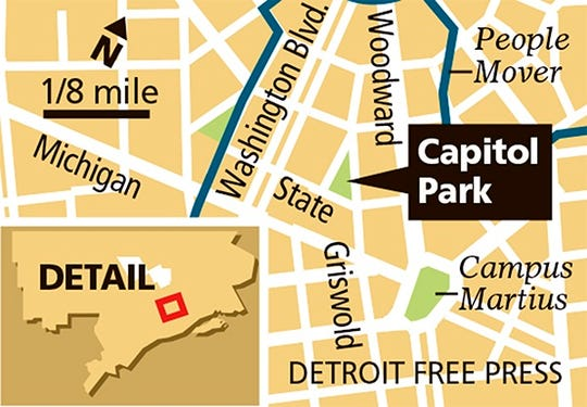 Map of Capital Park