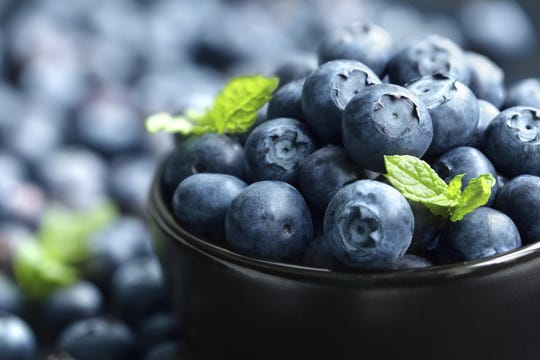 A study found that women ages 25 to 42 who ate at least three servings of blueberries and strawberries each week had fewer heart attacks.