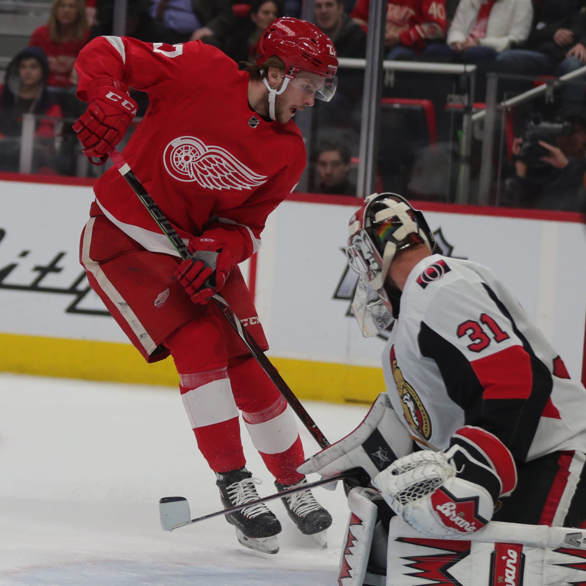 Detroit Red Wings keeping Michael Rasmussen is 'best for his development'