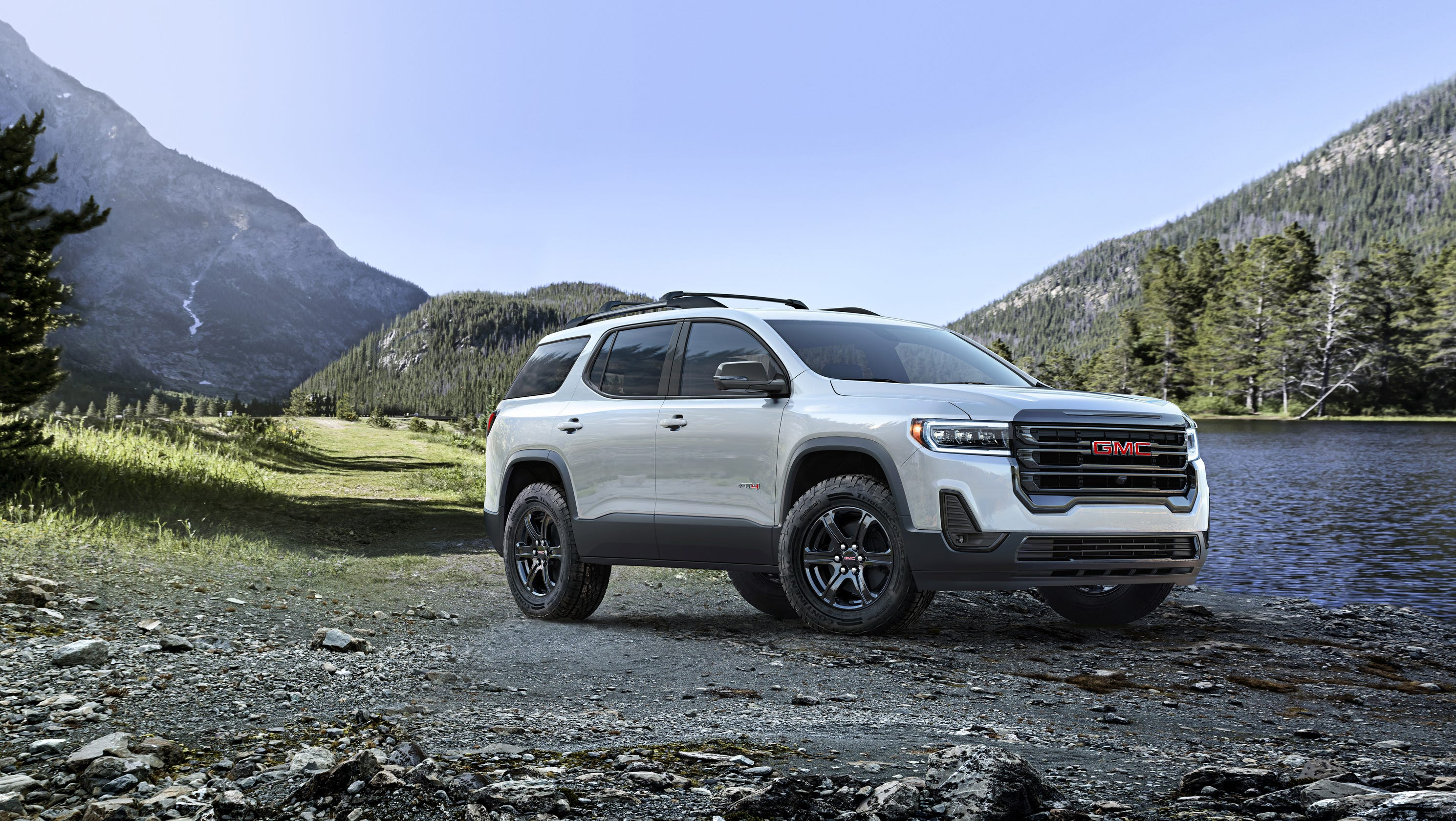 Bolder 2020 GMC Acadia is first crossover to join AT4 lineup