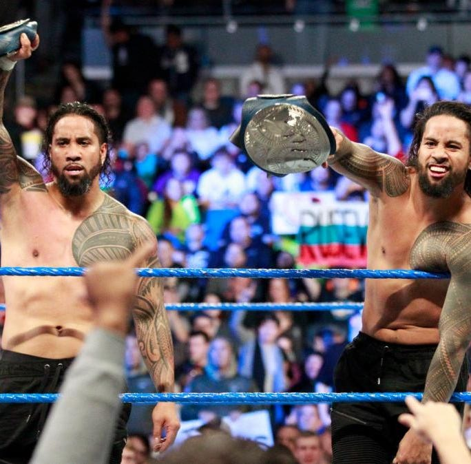 WWE wrestler Jimmy Uso arrested in Detroit