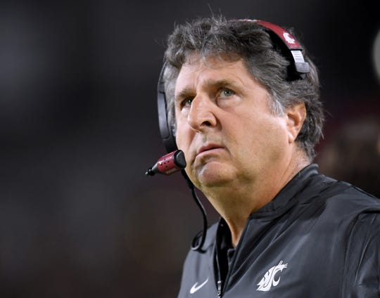 """Washington State coach Mike Leach: """"We've got to get eyes on the product. It's about exposure and money, and you don't have one without the other.''"""