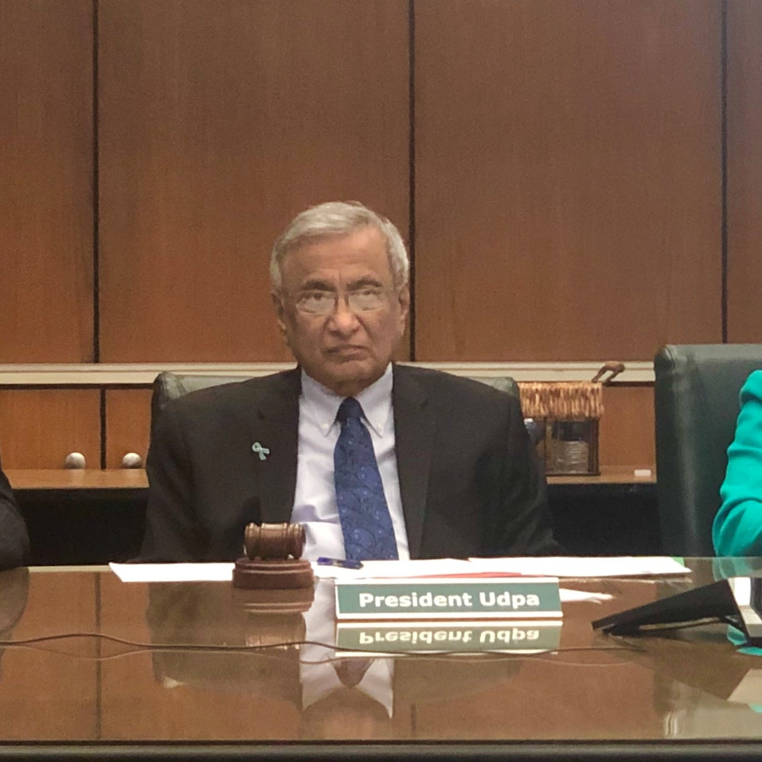 MSU Acting President Udpa to Nassar victims: 'We let you down'