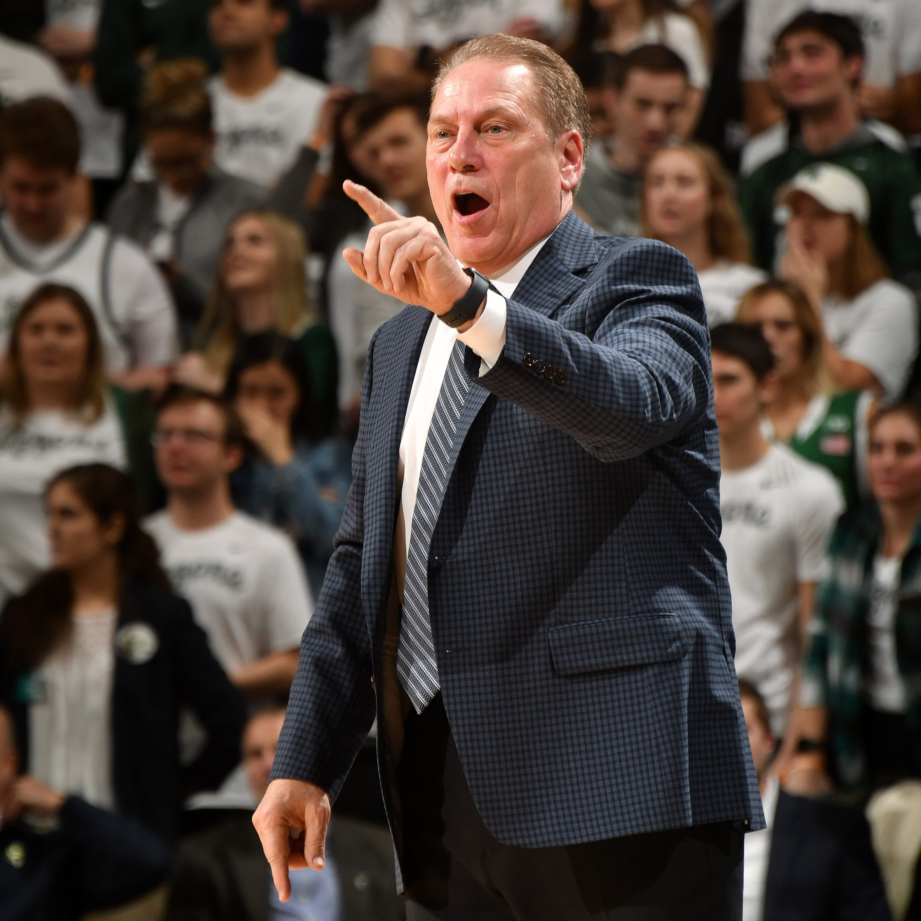 Tom Izzo tries to keep Michigan State's focus on Rutgers as Michigan looms