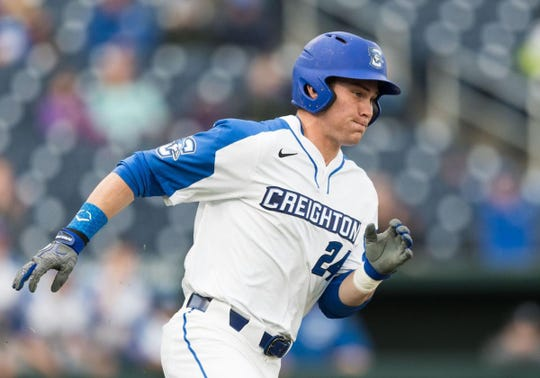 Creighton's Will Robertson ranked in the top three of the Cape Cod League last summer with 30 runs and 28 runs batted in.