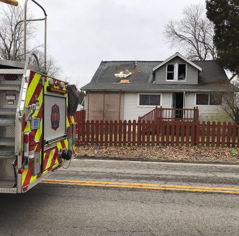 Two left without a home after Thursday morning fire