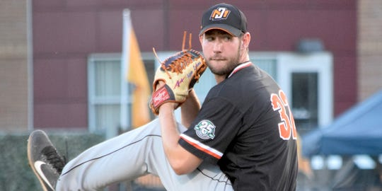 UE junior Adam Lukas pitched well last summer for the Mankato MoonDogs of the Northwoods League.
