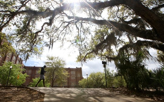 Florida State University campus on Thursday, March 31, 2016.