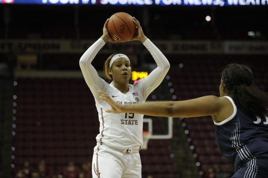 Redshirt junior forward Kiah Gillespie has been exactly the anchor Florida State needed this year, leading the way with eight 20-point games.