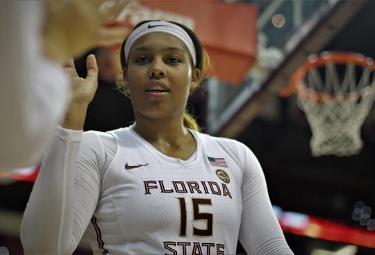 Redshirt junior forward Kiah Gillespie has had a monumental impact on Florida State's success this season.