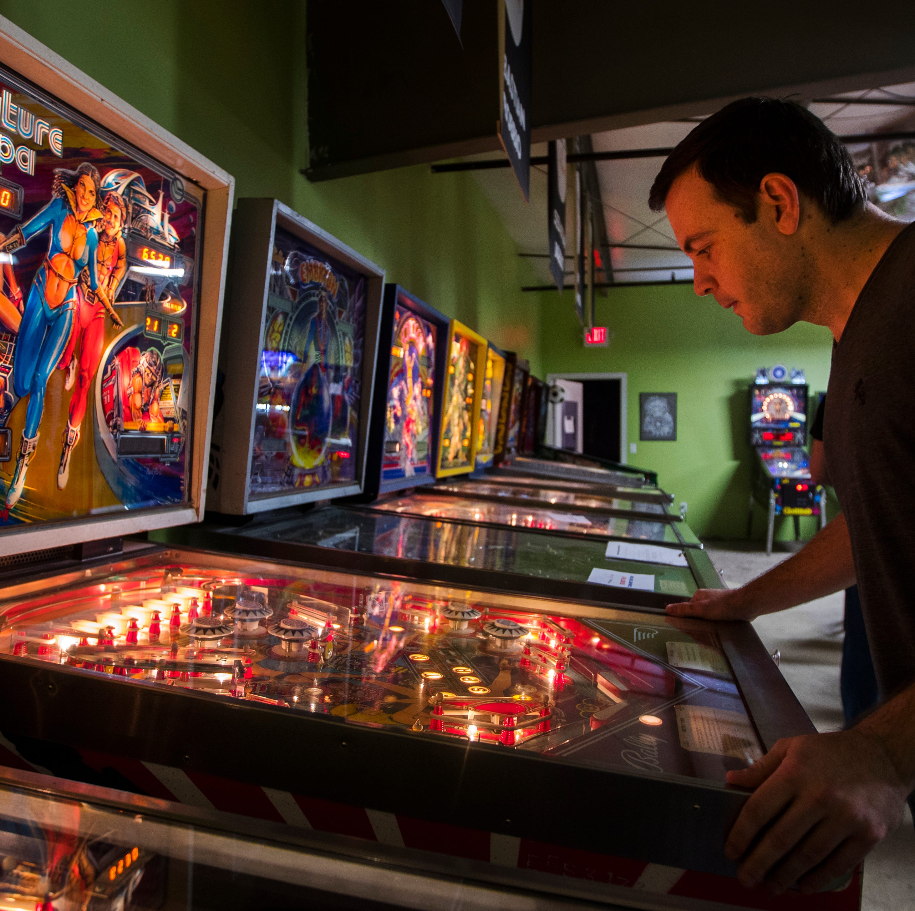 Eric Stone is a Southwest Florida TV weatherman by day, a pinball wizard by night