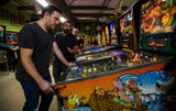 Local TV weatherman Eric Stone discusses his path to pinball mastery Thursday, February 14, 2019.