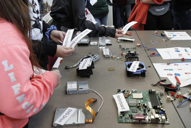 GFPS IT showed the students what they need to know when it comes to Information Technology