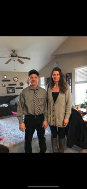 Dave and Kerry Dosch of Cut Bank have made many trips to Miles City the last few winters to watch their daughter, Dakota, play basketball for Miles CC Pioneers.
