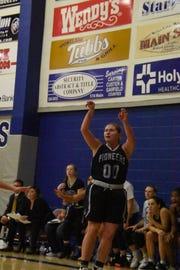 Former Cut Bank star Dakota Dosch is a key player on an unbeaten Miles Community College women's basketball team this winter.