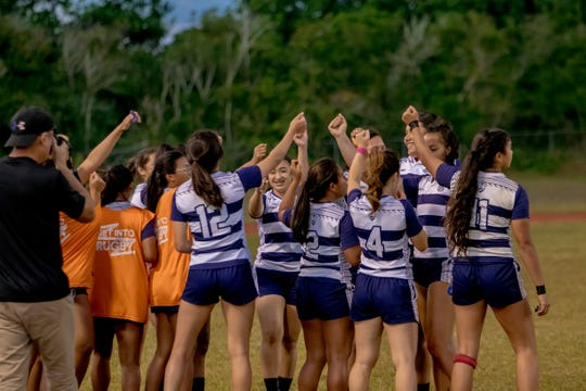 Notre Dame High School girls rugby team remained undefeated, staving off the multiple defending champion George Washington Geckos.