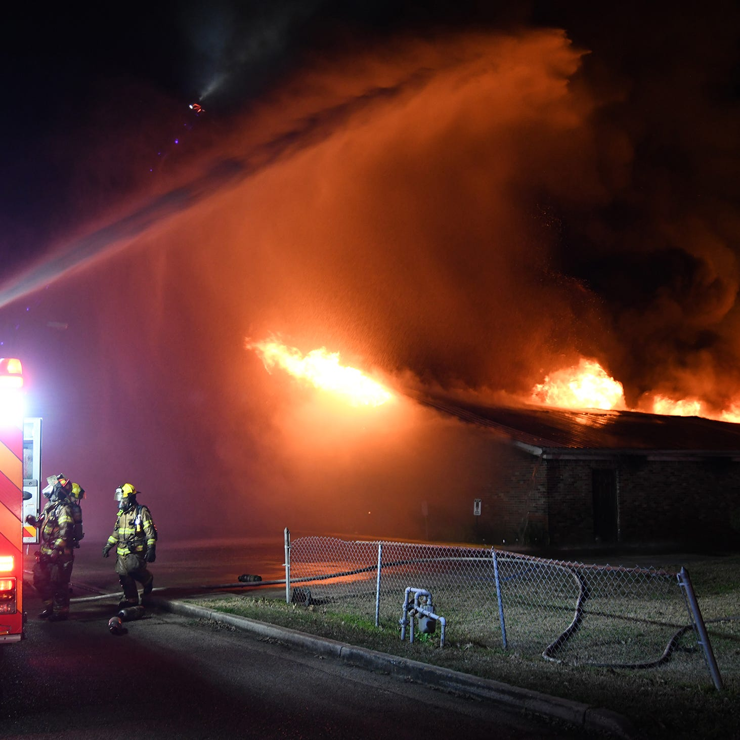 Hattiesburg church destroyed in Thursday night fire