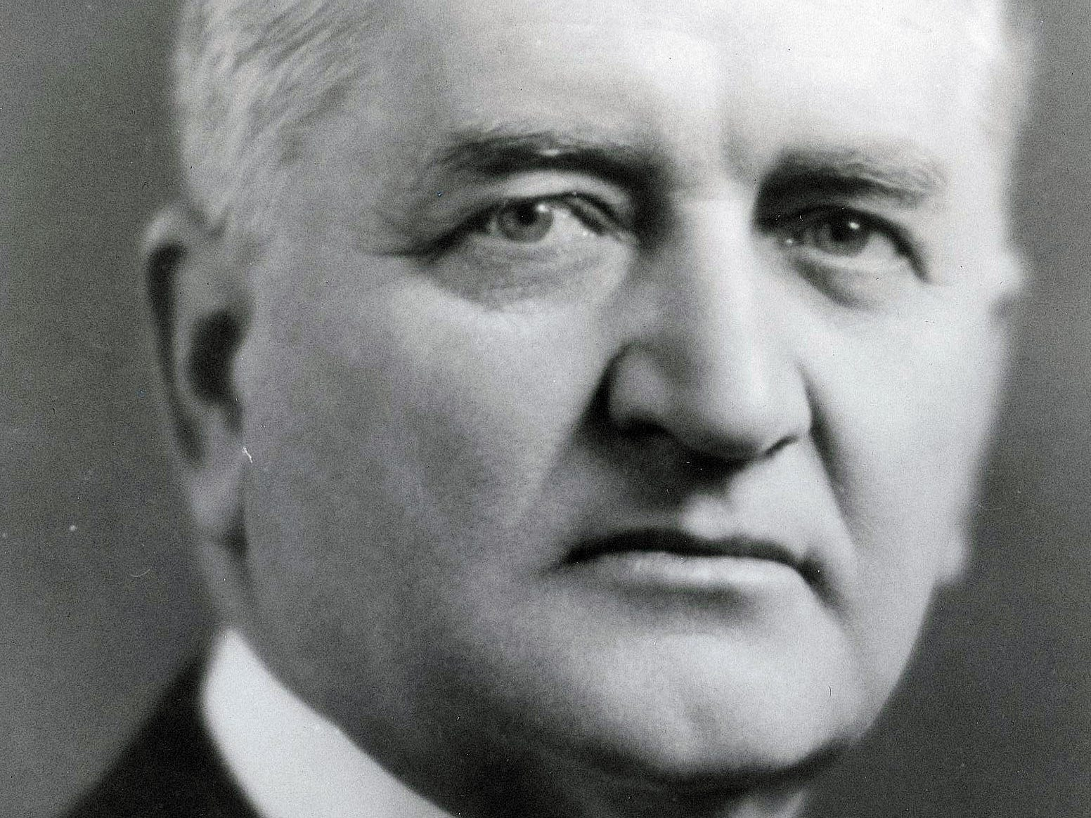 Gov. Edward Jackson, Indiana's 32nd governor who served from 1925-29, helped establish the Indiana Dunes State Park and the George Rogers Clark Memorial.