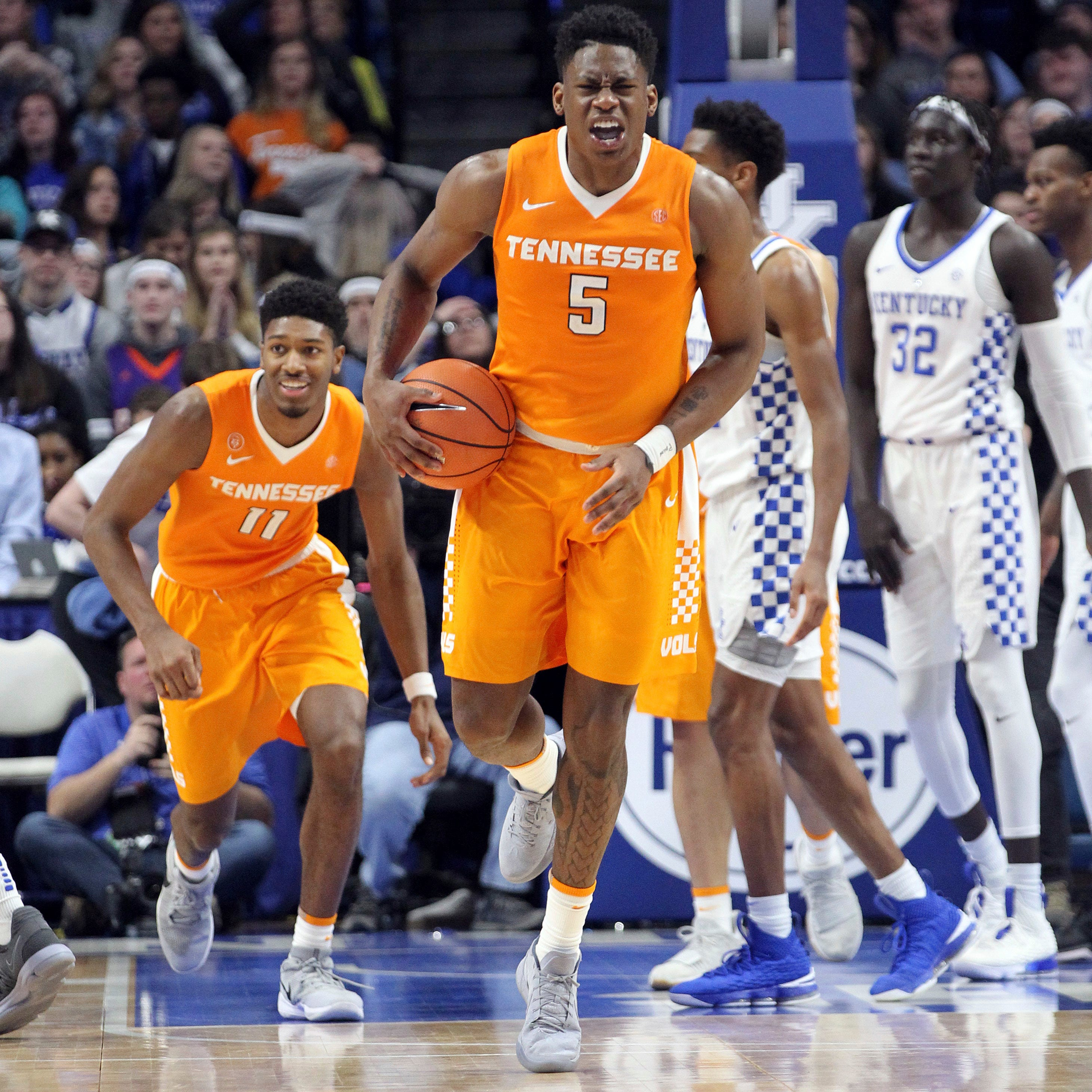 Tennessee vs Kentucky basketball 'not just another one' for No. 1 UT Vols
