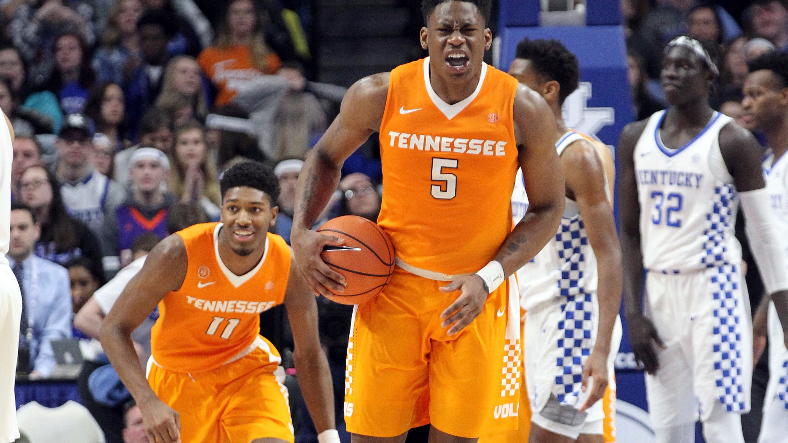 Uk Basketball Uk Vs Tenn: UT Vols Basketball Vs. Kentucky 'not Just Another One' For