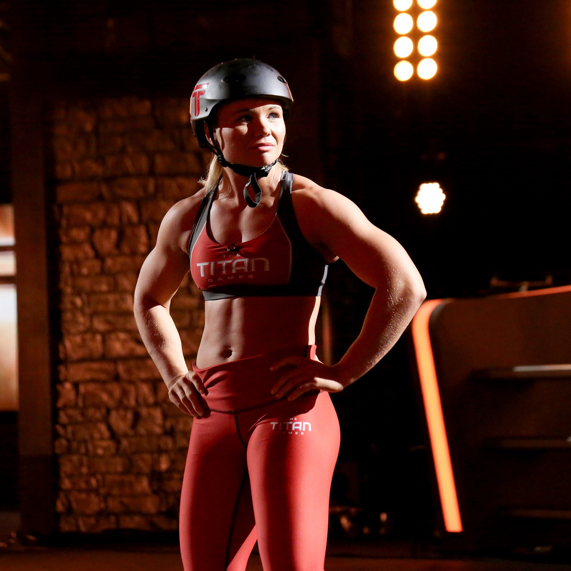 'The Titan Games:' Knoxville's Emily Andzulis eliminated in show's semifinals