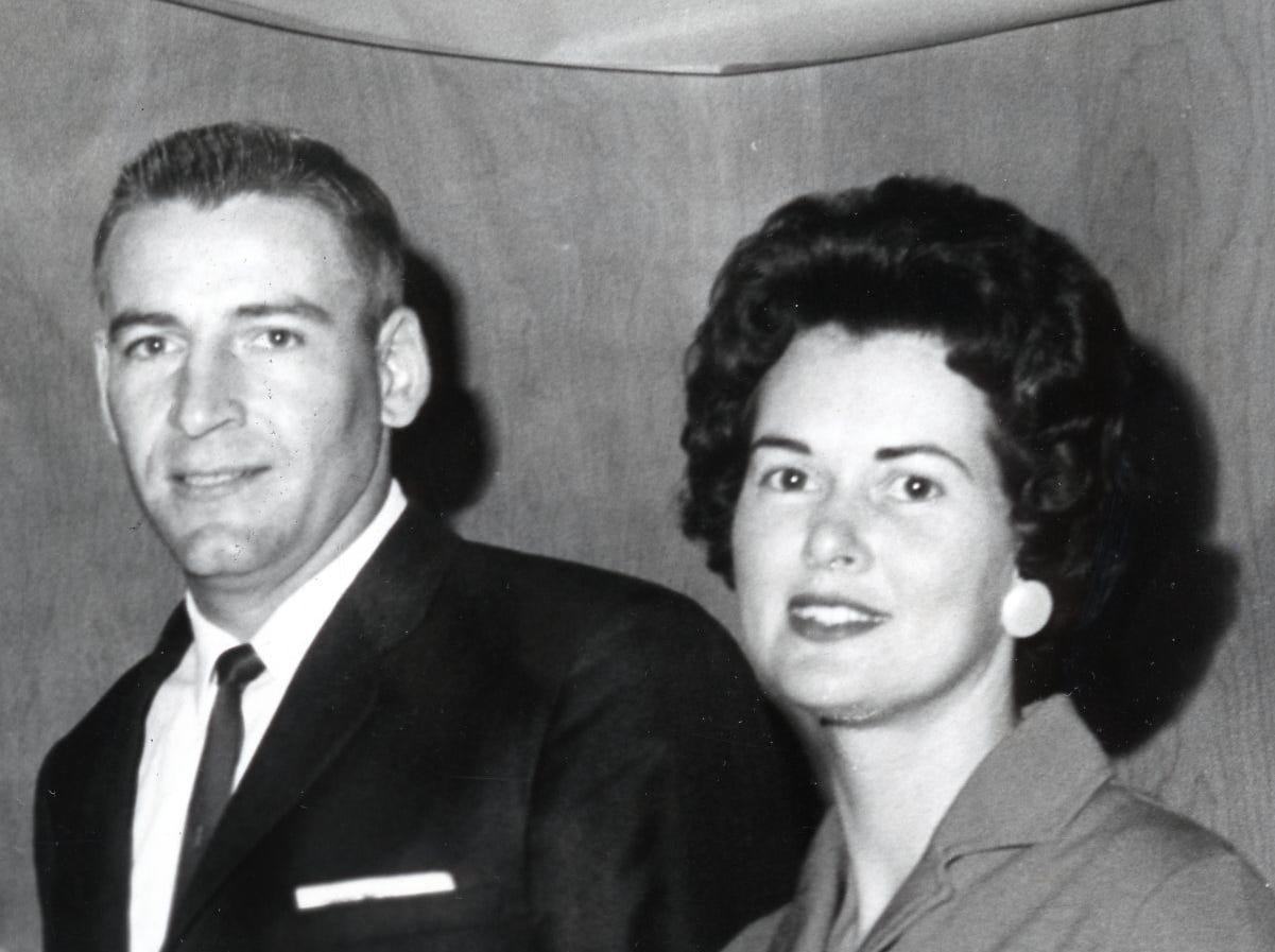 Doug and JoAnne Dickey, January, 1964.