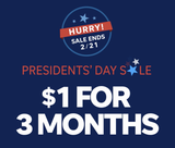 The Knox News President's Day sale ends Feb. 21.