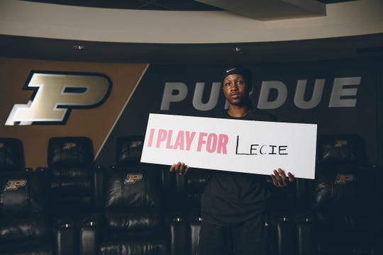 Purdue sophomore Lyndsey Whilby