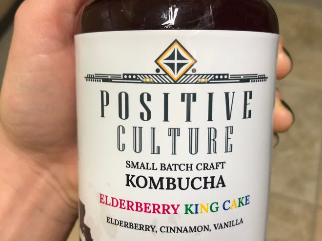 Everything comes in a king cake flavor, even kombucha.