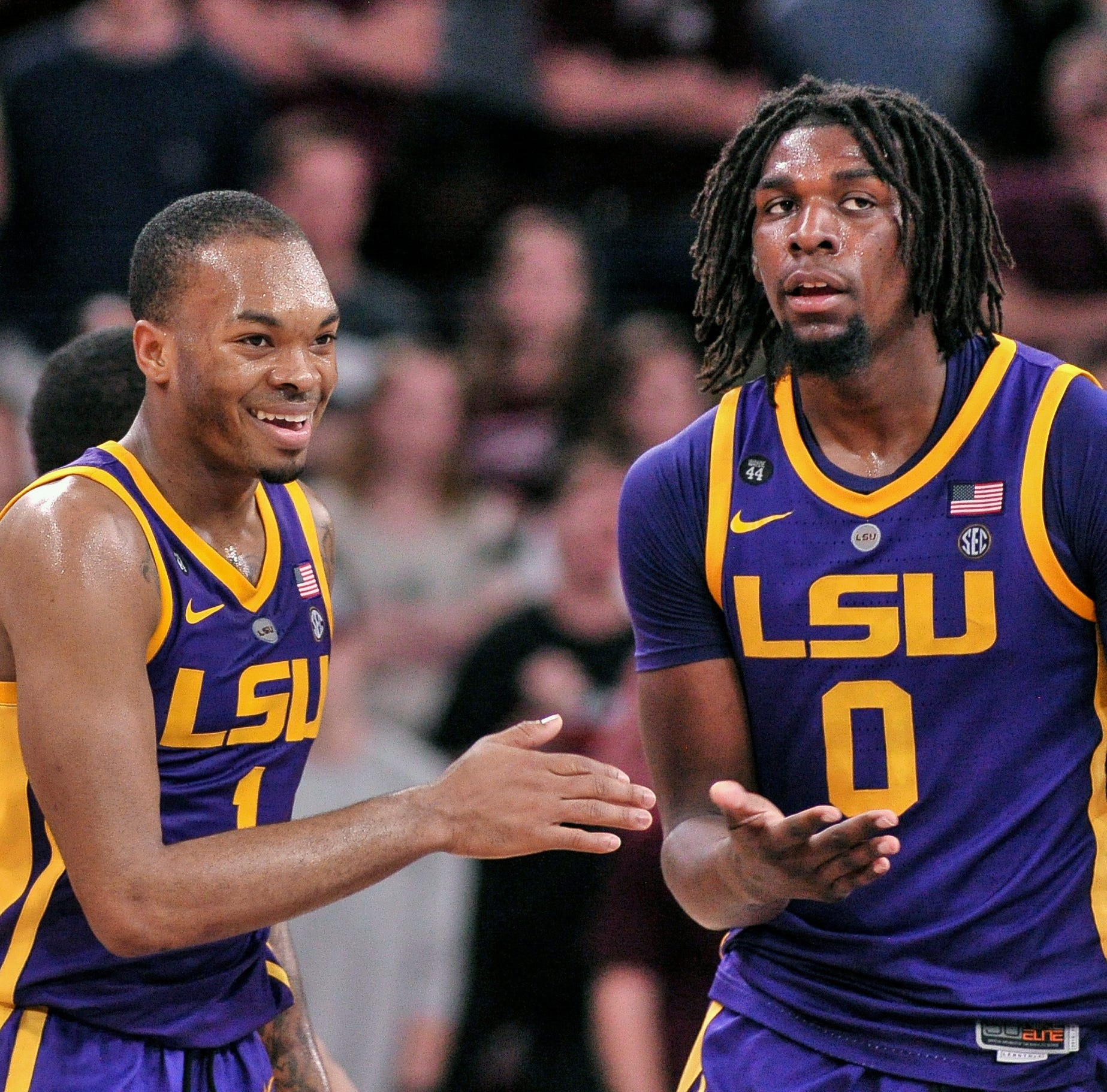 Big man Naz Reid can finesse you, but lately his inside moves have kept LSU dominant