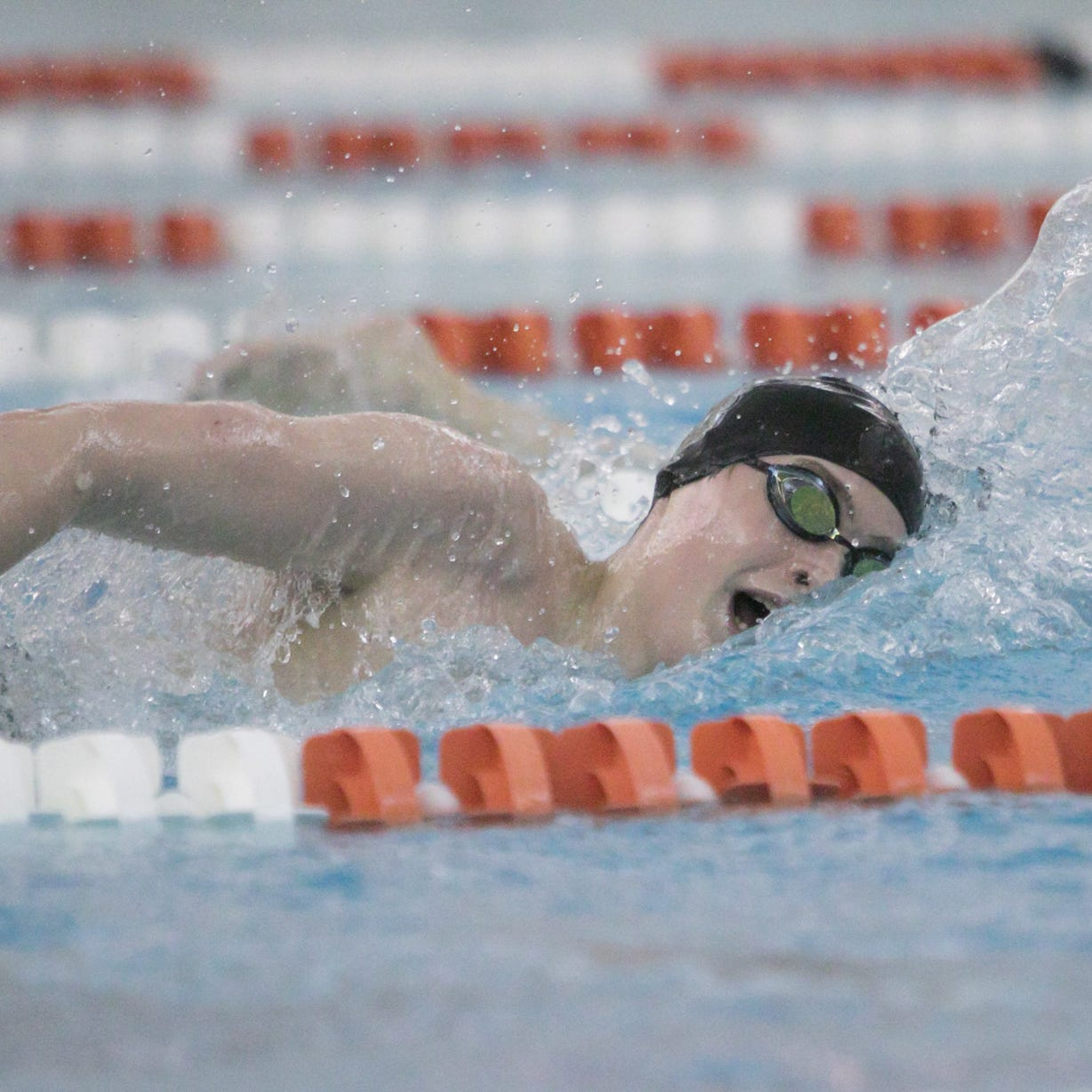 Howell swimmer makes history (twice) at state meet