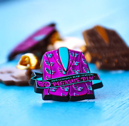 It's here! Check out the 2019 Kentucky Derby Festival Pegasus Pin