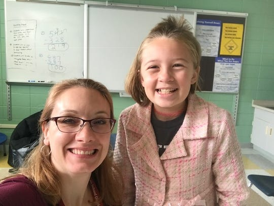 Big Brothers Big Sisters of Manitowoc County has named Big Sister Jerilyn Dietz (left) and Little Sister Jersey as its match of the month for February.
